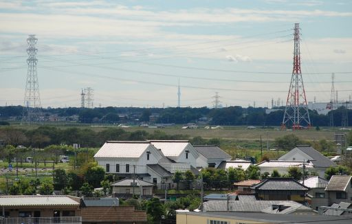 『境町からの東京スカイツリー』の画像