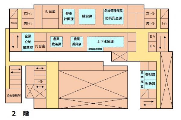 『庁舎2階』の画像