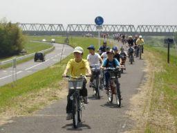 『利根渡良瀬サイクリングコースの画像です。』の画像