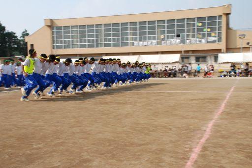 『中学校の運動会02』の画像