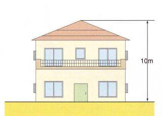 『一般住宅地区の高さの制限』の画像