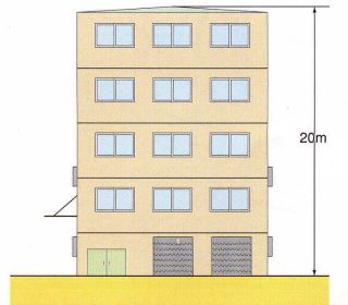 『誘致施設地区の高さの制限』の画像