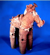 『馬形埴輪の画像です。』の画像