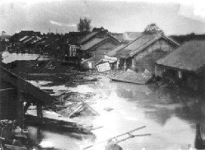『明治の大水の画像です。』の画像