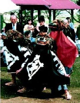 『塚崎の獅子舞』の画像