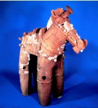 『馬形埴輪』の画像