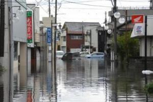 『『関東・東北豪雨災害 街中の被害の様子』の画像』の画像