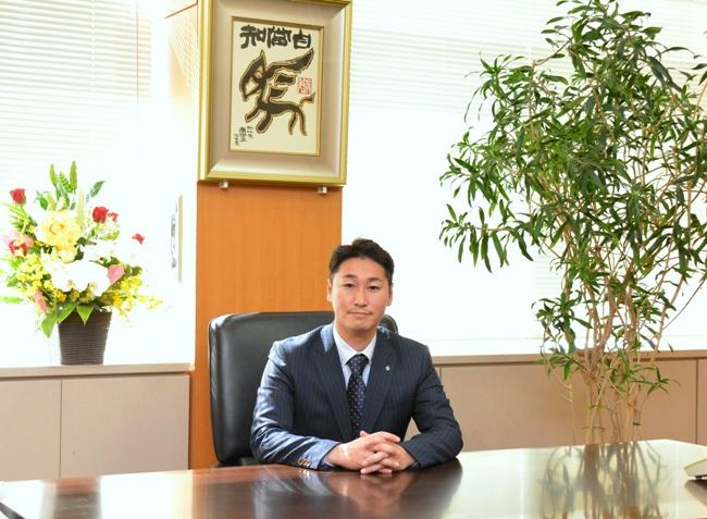 『境町長 橋本正裕の写真です。』の画像