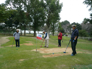 『グラウンド・ゴルフプレー風景2』の画像