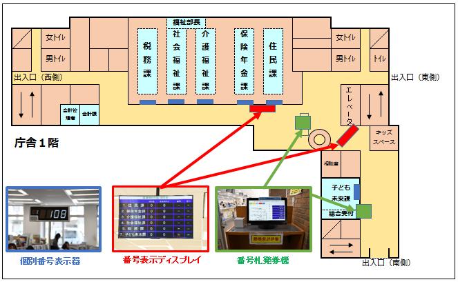 『『庁舎図4_窓口』の画像』の画像