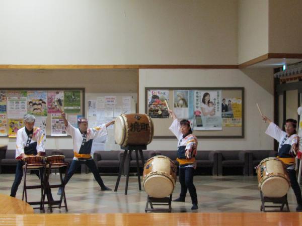 『町民祭文化展オープニングセレモニー(和太鼓部)』の画像