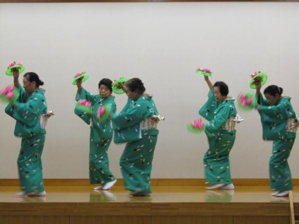 『町民祭文化展オープニングセレモニー(民踊線歌部1)』の画像