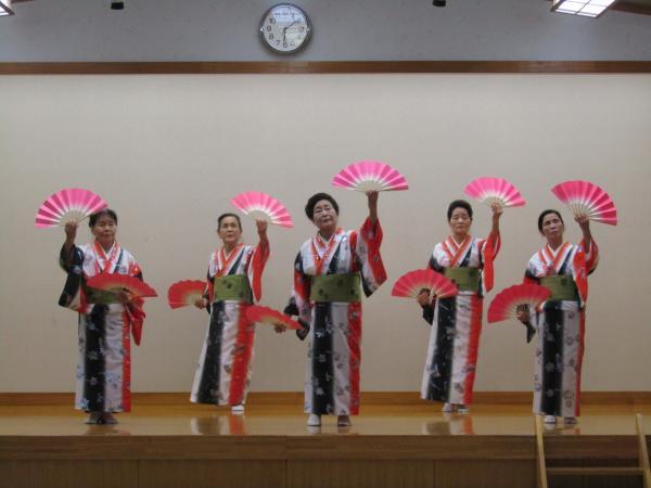 『町民祭文化展オープニングセレモニー(民踊線歌2)』の画像