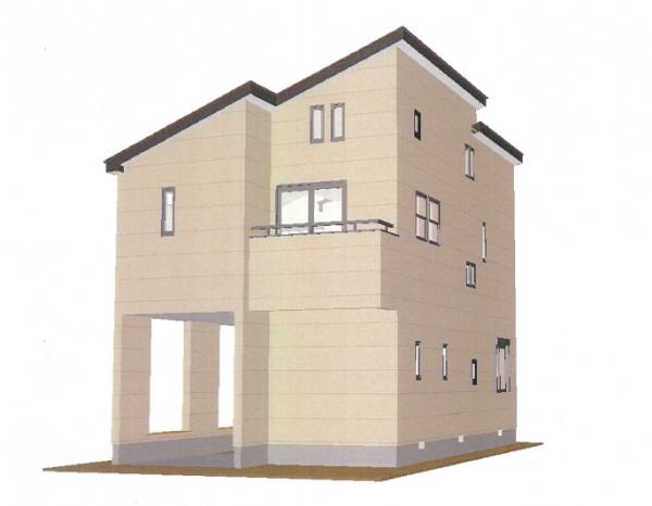 『戸建住宅パース』の画像