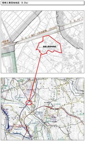 『4 塚崎工業団地地区』の画像