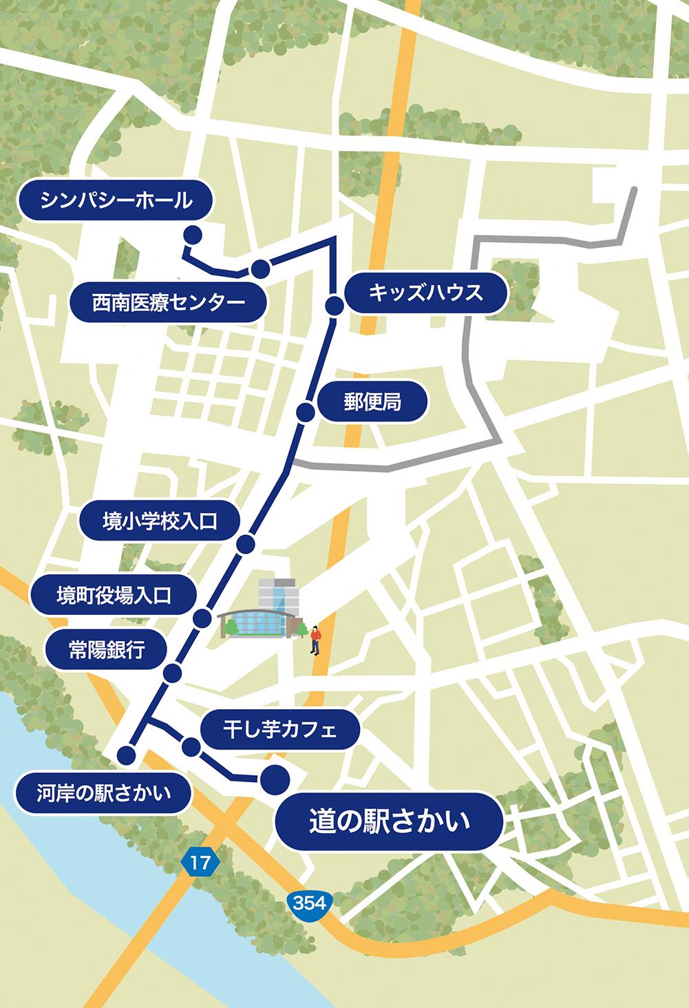 『シンパシーホール・道の駅さかいルート』の画像