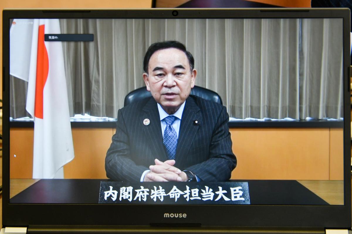 『坂本地方創生担当大臣からのメッセージ(ビデオ)』の画像